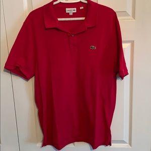 Lacoste men's XXL polo Golf Shirt